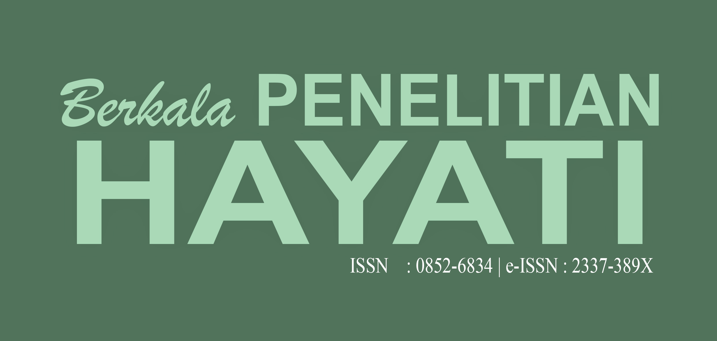 Berkala Penelitian Hayati Journal of Biological Researches